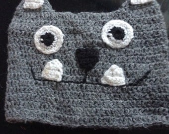 Cute Monster Hat - Toddler - Made To Order