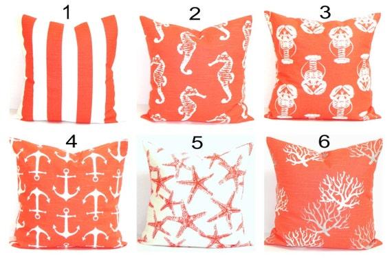 BEACH DECOR, Home Décor,Pillow Cover, Decorative Pillow, Throw Pillow, Pillows, Accent Pillow, Nautical Pillow Covers, All Sizes, Cushion