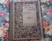 Songs of All Lands Copyright 1899 by W. S. B. Mathews