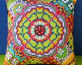Flamenco Mini Cushion Cross Stitch Kit