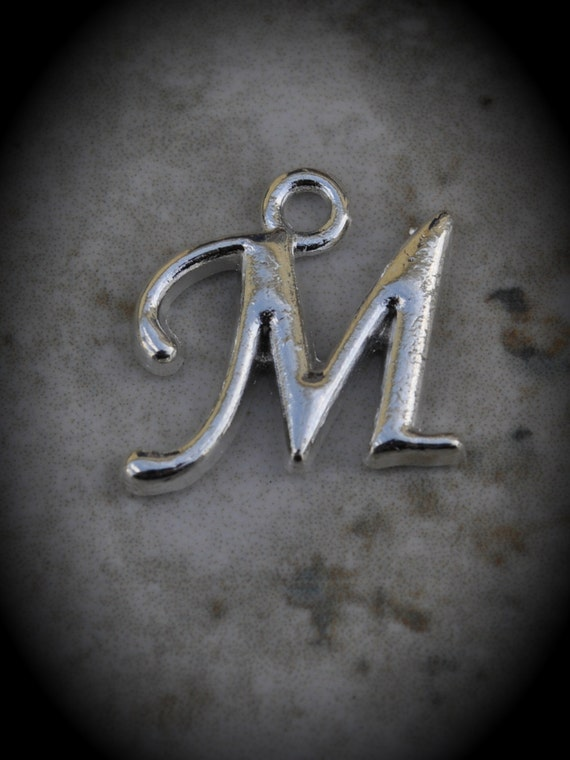 m letter in silver - photo #26