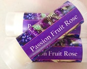 Passion Fruit Rose Lip Balm - One Tube of All Natural Beeswax Lip Salve Chapstick from Lee the Beekeeper