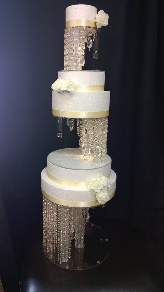 wedding cake separator illusion cake stand and separators 24271