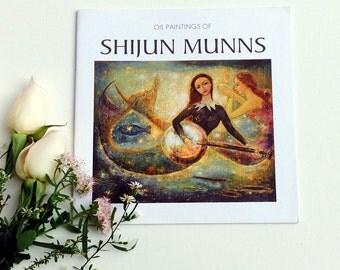 Fine Art Book Oil painting by Shijun Munns:art and spirit,creative art book-portraits art-fine art print-art gift