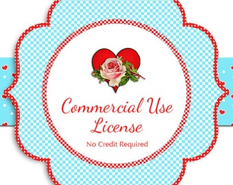 Commercial License / Extended Use CU / No Credit Required