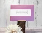 Purple Personalized Wrap ...
