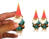 Sticker set of 3 gnomes waterproof #1 - Vinyl for car window bumper phone case Decal