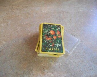 Vintage playing Cards Florida plus Whitman Playing cards Parlament  playing cards,