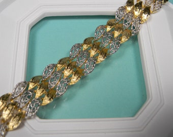 Ornate Francois Bracelet, Classic Coro Vintage,  Signed, Just Reduced