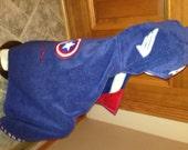 American Superhero Hooded Towel - Free Personalization