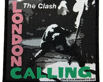 "The Clash ""London Calling"" Album Art Punk Rock Band Music Sew On Applique Patch"