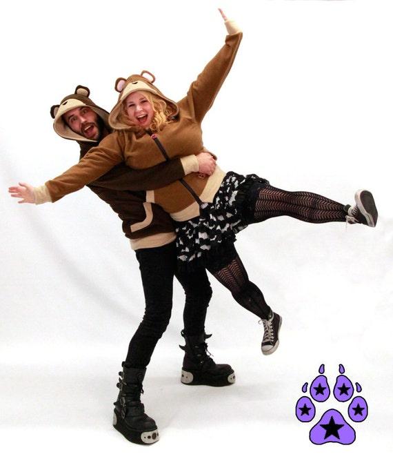 TEDDY BEAR HOODIE Jacket