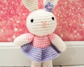 Bunny Crochet Rag Doll Plush - Daisy