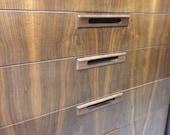 Walnut mid century modern,Chest of Drawers, Dresser