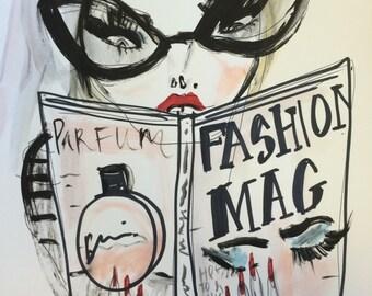 Magazine junkie