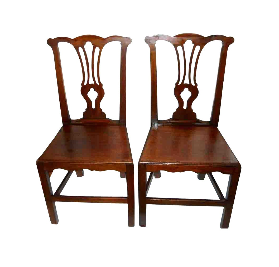Authentic chippendale chairs -  Zoom