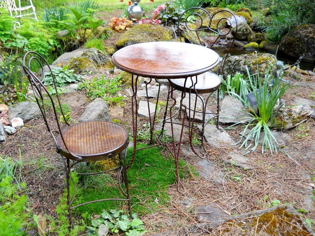 victorian industrial rare bistro set french country cafe terrace vintage pub general store patio. Black Bedroom Furniture Sets. Home Design Ideas