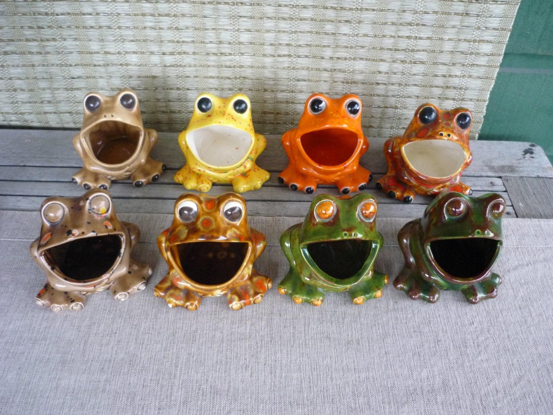 ... Vintage Ceramic Sink Frog Retro 70 S Kitchen Decor ...