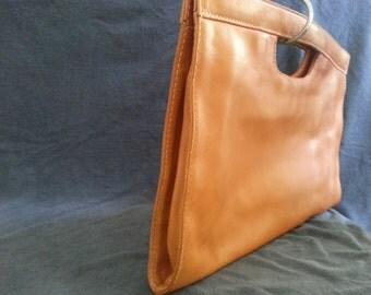Authentic BOTTEGA VENETA Leather Clutch