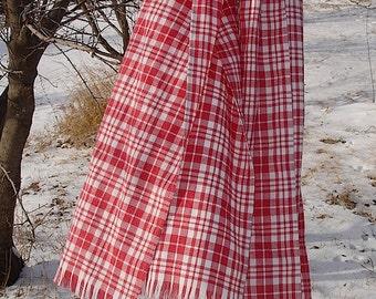 Brushed Cotton Blanket Scarf