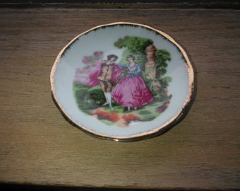 Vintage Victorian Butter Pat Made in Japan