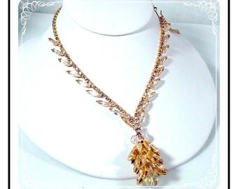Delicious Juliana Necklace  - Dripping Ice Sherbert D and E  Juliana  580a-021410065
