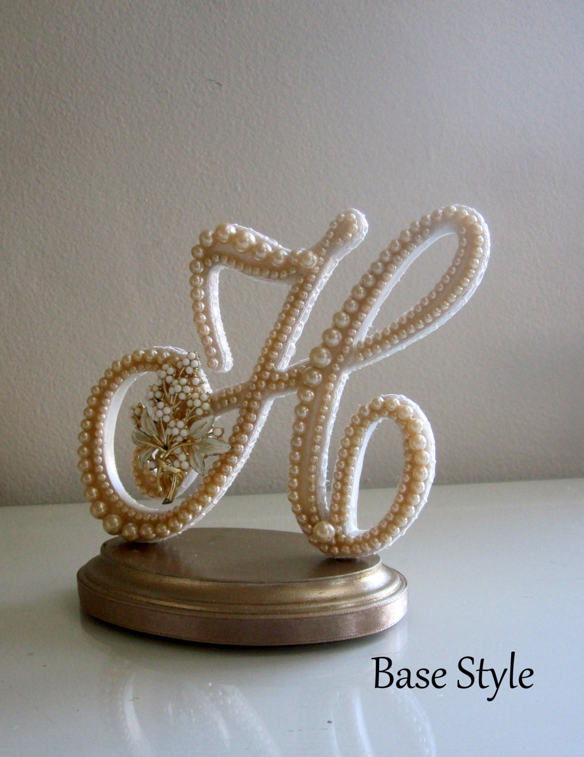 letter h wedding cake topper wedding cake topper ready to purchase letter h 16834
