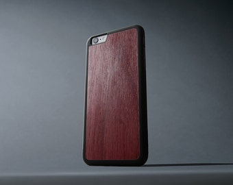 Purpleheart iPhone 6 Plus / 6s Plus Traveler Wood Case - Made in the USA - FREE Shipping