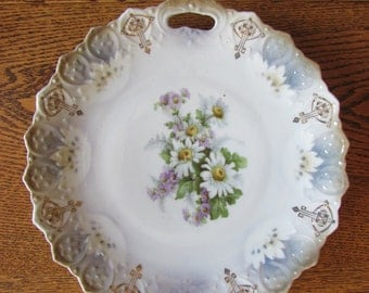 Antique Art Deco Bavarian Plate
