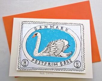 Mute Swan card