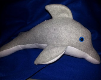 Pattern for Stuffed Dolphin