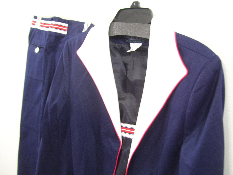 Beautiful NAVY PLAID PANT SUIT  My Style  Pinterest  Vests Plaid And Suits