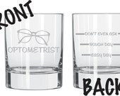 Optometrist Glass  Eye Doctor FUNNY FREE personalization