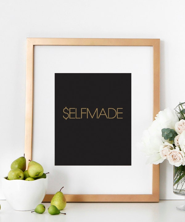 Motivational Wall Print Typography Art Poster Inspirational
