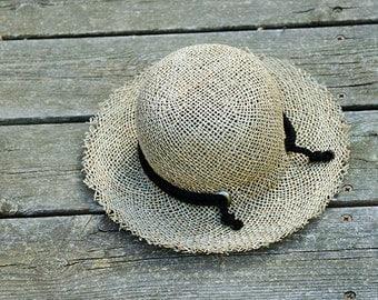 Straw Hat For Women , Womens Hats Summer , Straw Hat ,  Sun hat, Straw hat for summer , Beach hat
