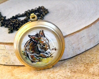 donkey locket