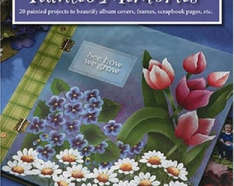Jan's Painted Memories Projects for Scrapbooks Art Leisure Arts 22593