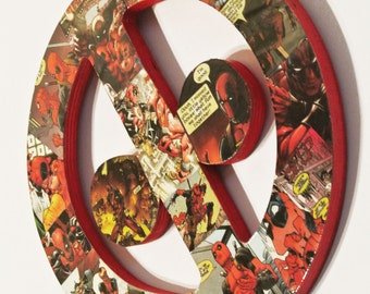 Deadpool Wall Plaque (made to order)
