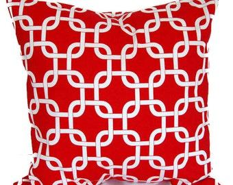 Decorative Throw Cushion Pillow Cover Lipstick Red Gotcha Links