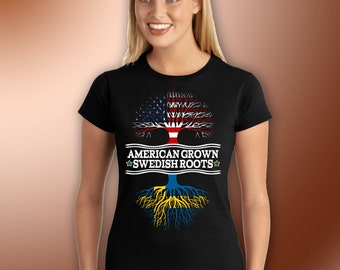 American Grown - Swedish Roots! - Adult Ultra Cotton T-Shirt
