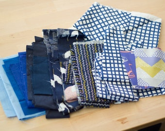 Blue scrap bundle