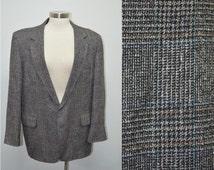 Men's Blazer, Size 44R, Men's Jacket, Men's Vintage Sports Coat, Mad Men, Gifts for Him, Suit Jacket, Kirby's of Tampa, Gray Jacket