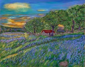 BLUEBELL VALLEY, 16x20 Ac...