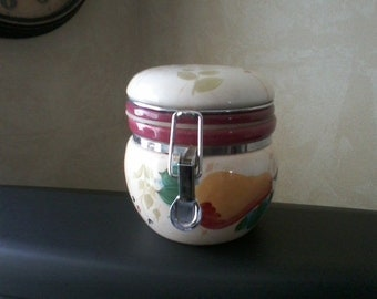 Ceramic Fruit Canister