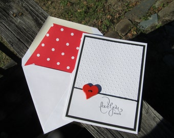 Stampin Up Valentine's Day Card