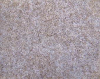 Beige Wool, Wool Fabric, Vintage Wool Fabric, Beige, Tan, Ecru, Light Brown, Wool, Pure Wool, Red, Felting