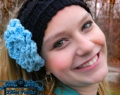 Crochet Cable Ear Warmer Headband for Ladies