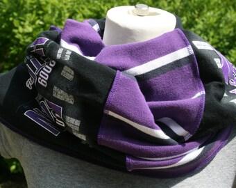T Shirt Scarf Necklace K State Manhattan Wildcats Kansas KSU Manhattan Purple