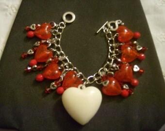 Love Candy OOAK Charm Bracelet by Kay Creatives