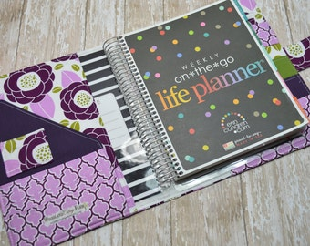 Planner Cover - In Joel Dewberry Aviary Fabric - f2